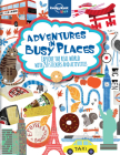 Adventures in Busy Places, Activities and Sticker Books Cover Image