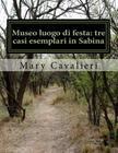 Museo luogo di festa: tre casi esemplari in Sabina: University Thesis Cover Image