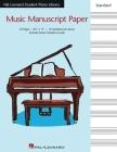 Hal Leonard Student Piano Library Standard Music Manuscript Paper Cover Image