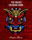 Tiki Masks Coloring Book Cover Image