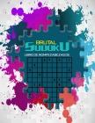 brutal libro de rompecabezas de sudoku: Sudoku súper ultraduro para el entrenamiento de la memoria. Cover Image