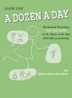 A Dozen a Day Book 1 (A Dozen a Day Series) Cover Image