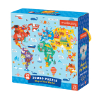 Map of the World Jumbo Puzzle Cover Image