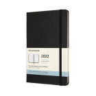 Moleskine 2022  Monthly Planner, 12M, Large, Black, Hard Cover (5 x 8.25) Cover Image