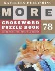 Large Crossword puzzles for Seniors: weekend crossword puzzle books for adults - More 50 Easy Puzzles Large Print Crosswords to Keep you Entertained f Cover Image