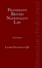 Fransman's British Nationality Law: Third Edition Cover Image