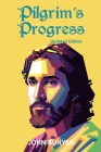Pilgrim's Progress (Illustrated): Updated, Modern English. More Than 100 Illustrations. (Bunyan Updated Classics Book 1, Holy Face of Jesus Cover) Cover Image