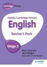 Hodder Cambridge Primary English: Teacher's Pack Stage 5 Cover Image