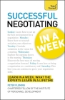 Negotiating in a Week: Teach Yourself Cover Image