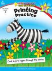 Printing Practice, Grade 2: Gold Star Edition (Home Workbooks: Gold Star Edition) Cover Image