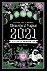 Coloring Book of Shadows: Southern Hemisphere Planner for a Magical 2021 Cover Image