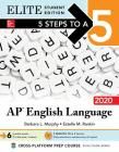 5 Steps to a 5: AP English Language 2020 Elite Student Edition Cover Image