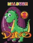 Malbuch Dino Ab 2 Cover Image