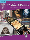 Top Hits from Tv, Movies & Musicals Instrumental Solos: Alto Sax, Book & CD (Top Hits Instrumental Solos) Cover Image