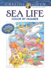Creative Haven Sea Life Color by Number Coloring Book (Creative Haven Coloring Books) Cover Image