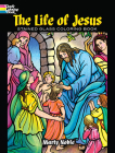 The Life of Jesus Stained Glass Coloring Book (Dover Coloring Books) Cover Image