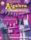 Jumpstarters for Algebra, Grades 7 - 12: Short Daily Warm-Ups for the Classroom Cover Image