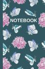 Butterflies And Flowers: Decorative Blank Lined Notebook / Journal To Write In: Butterflies And Flowers Journal Cover Image