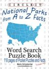 Circle It, National Parks from A to Z Facts, Pocket Size, Word Search, Puzzle Book Cover Image
