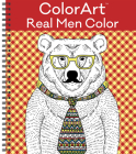 Colorart Coloring Book - Real Men Color Cover Image