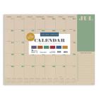 Cal 2021- Kraft Academic Year Desk Pad Cover Image