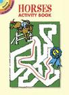 Horses Activity Book (Dover Little Activity Books) Cover Image