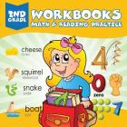 2nd Grade Workbooks: Math & Reading Practice Cover Image