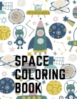 Space Coloring Book Cover Image