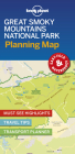 Lonely Planet Great Smoky Mountains National Park Planning Map (Planning Maps) Cover Image