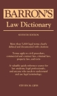 Barron's Law Dictionary Cover Image