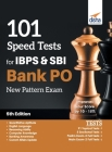 101 Speed Tests for IBPS & SBI Bank PO New Pattern Exam 5th Edition Cover Image