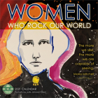 Women Who Rock Our World 2021 Wall Calendar Cover Image