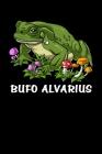 Bufo Alvarius: Bufo Alvarius Toad Psychedelic Notebook Cover Image