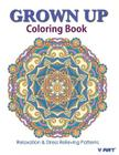 Grown Up Coloring Book 19: Coloring Books for Grownups: Stress Relieving Patterns Cover Image