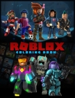 Roblox Coloring Book: : Adventures Coloring Book for Kids Ages 4-8 Cover Image