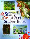 Story of Art Sticker Book Cover Image
