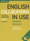 English Collocations in Use Advanced Book with Answers: How Words Work Together for Fluent and Natural English Cover Image