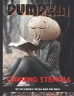 Pumpkin Carving Stencils: 50 Fun Stencils For All Ages and Skills (Halloween Crafts) Cover Image