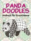 Panda Doodles - Malbuch für Erwachsene Cover Image