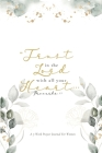 Trust in the Lord: A 7-Week Prayer Journal for Women Cover Image
