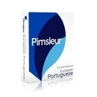 Pimsleur Portuguese (European) Conversational Course - Level 1 Lessons 1-16 CD: Learn to Speak and Understand European Portuguese with Pimsleur Language Programs Cover Image