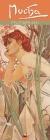Alphonse Mucha Slim Calendar 2021 (Art Calendar) Cover Image