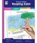Social Skills Mini-Books Keeping Calm Cover Image