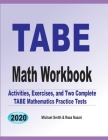 TABE Math Workbook: Activities, Exercises, and Two Complete TABE Mathematics Practice Tests Cover Image