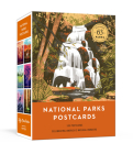 National Parks Postcards: 100 Illustrations That Celebrate America's Natural Wonders Cover Image
