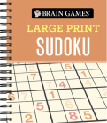 Brain Games - Large Print Sudoku Cover Image