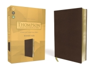 Kjv, Thompson Chain-Reference Bible, Handy Size, Leathersoft, Brown, Red Letter Cover Image