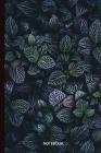 Notebook: Dark Leaves Cover Image