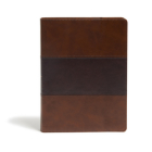 KJV Study Bible, Full-Color, Saddle Brown LeatherTouch: Red Letter, Study Notes, Articles, Illustrations, Ribbon Marker, Easy to read Bible font Cover Image