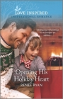 Opening His Holiday Heart: An Uplifting Inspirational Romance Cover Image